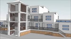 Design An Apartment Building With SketchUp Part  Animations - Apartment complex designs