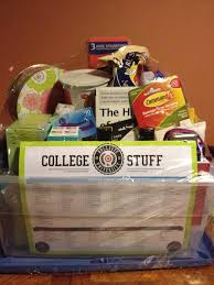 25 unique college gift baskets ideas on college gift