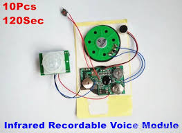 recordable cards 2018 120second infrared recordable sound module voice diy module