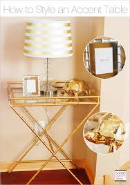 Gold Accent Table The Gold Trend How To Style A Gold Accent Table Soiree Event Design