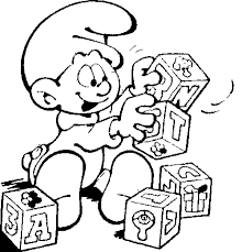 smurf coloring pages the smurfs coloring pages coloringpages1001 com