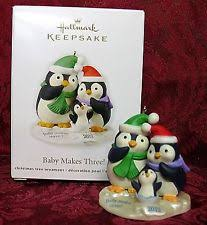 hallmark penguin ornaments 2012 ebay