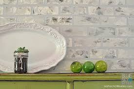 how to create a faux brick wall u2022 fusion mineral paint