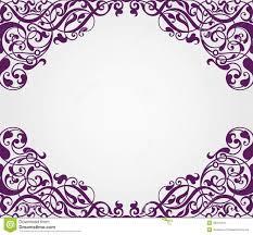 vector vintage baroque frame corner ornate stock vector image