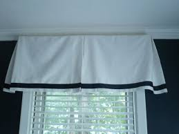 westhampton diy easy box pleat valances convert a curtain panel