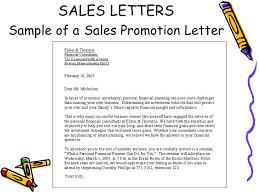 sale letter template