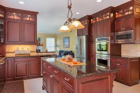 dark cherry kitchen perfection wall new jersey by design line kitchens