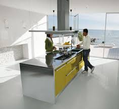 hotte cuisine ouverte ilot centrale cuisine pas cher 6 hotte ilot central pour une