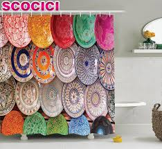 wondrous moroccan style curtains 44 moroccan inspired shower