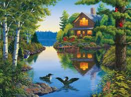 thanksgiving jigsaw puzzle tucked away the great outdoors jigsaw puzzle puzzlewarehouse com