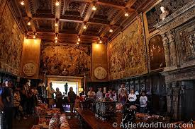 Hearst Castle Grand Rooms Tour As Her World Turns - Hearst castle dining room