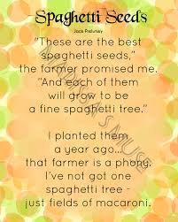 printable poem wall 8x10 spaghetti seeds by marissasmuse