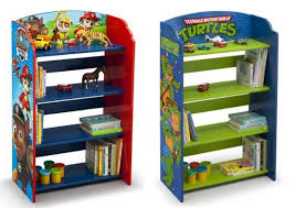 Children S Bookshelf Walmart Delta Children U0027s Character Themed Bookshelves Only 39 98