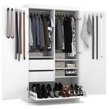 Wardrobe With Shelves by White Armoires U0026 Wardrobes You U0027ll Love Wayfair