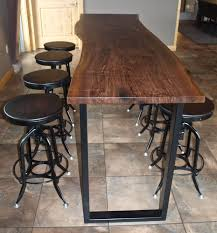 rustic high top table astonishing high table and chair set about top pict for trends