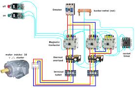 foto gambar pengkoneksian penyambungan rangkaian kontaktor ii
