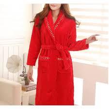 veste de chambre femme robe de chambre polaire femme liser croisillons achat robe de