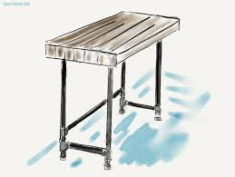 Diy Wood Desk Plans Building A Custom Industrial Wooden Desk Craft Thyme Fabulous Diy