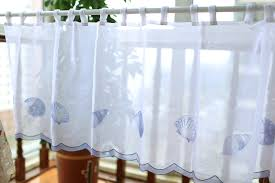 Coffee Print Kitchen Curtains Kitchen Curtain Blue Decorate The House With Beautiful Curtains