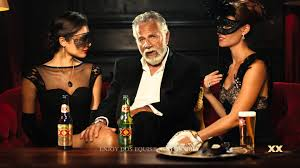 Interesting Man Meme - the most interesting man in the world is back and at it again