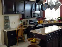 Black Stained Kitchen Cabinets Alkamediacom - Black stained kitchen cabinets
