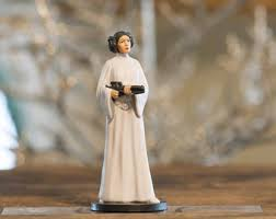 princess leia from wars custom ornament