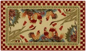 rooster kitchen rugs creating a country kitchen nuance homesfeed
