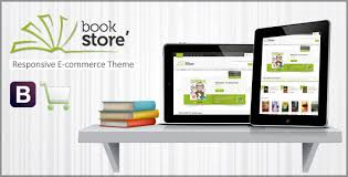 templates for bookshop book store responsive ecommerce html5 theme by crunchpress themeforest