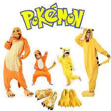 Charmander Halloween Costume Pokémon Unisex Costumes Ebay