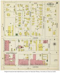 Gainesville Map Sanborn Maps Of Texas Perry Castañeda Map Collection Ut