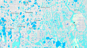 Florida Orlando Map by Interactive Map Of Flood Zones In Central Florida Orlando Sentinel