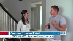 custom interior paint kris nielsen painting on the approved home
