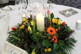 a fabulous collection of bridal bouquets and table centre pieces
