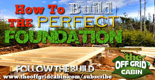 16x24 post and pier cabin how to build a rock solid low cost grid cabin foundation