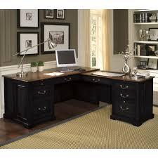 Black Office Desk Furniture Furniture Fashionable L Shaped Computer Desks Design Ideas Made