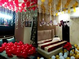 balloon surprise decoration at home anniversary birthday delhi