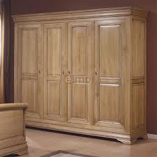 model armoire de chambre armoire de chambre 2 à 4 portes chêne massif style louis philippe