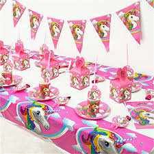 unicorn party supplies lalang unicorn party supplies kids birthdays party decor table