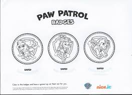 paw patrol coloring pages disney pics and paw patrol