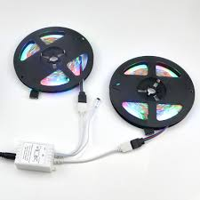 rgb led strip lights 12v ip20 no waterproof dc 12v 10m 5m rgb led strip light 2835 3528 smd