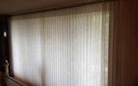 Vertical Blinds With Sheers Luminette Privacy Sheers And Vertical Blinds Bucks County Blind
