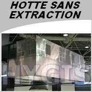 hotte cuisine sans conduit hotte professionnelle sans extraction exterieure largeur 1000 mm