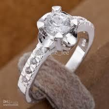 small fashion rings images 925 silver fashion rings small clear diamond dazzling womens rings jpg
