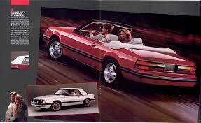1983 mustang glx convertible value mustang eighties cars
