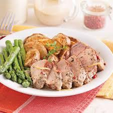 porc cuisine filets de porc sauce moutarde et poivre recettes cuisine