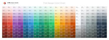 color chart u2014 html color codes
