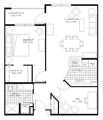 Floor Plan Of An Apartment Wheatland Village