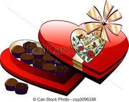 heart box of chocolates heart chocolate box vector heart box of chocolate
