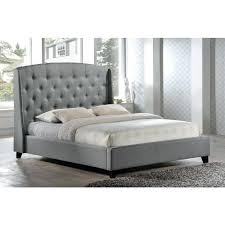 slumberland bed frame double bed contemporary leather with