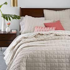 natural linen comforter belgian flax linen quilt shams natural flax west elm